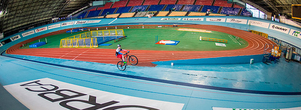 Superar el Récord Guinness de la hora a una rueda, el reto a batir de Markel Uriarte