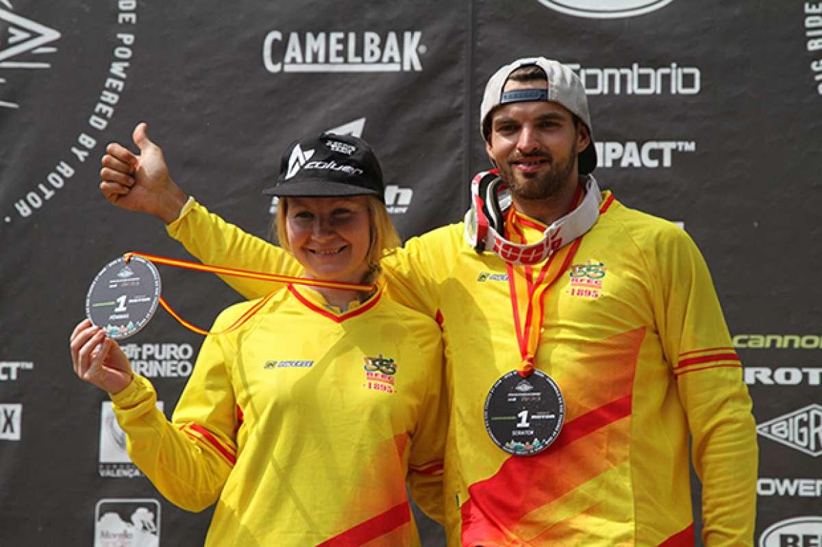 José Borges y Maaris Meier, campeones del Open de España de Enduro 2016