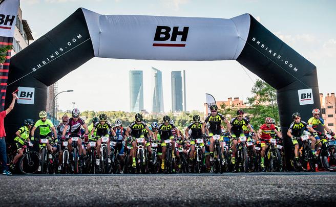 Más de 1.500 participantes en la BH Madrid-Segovia MTB 2016