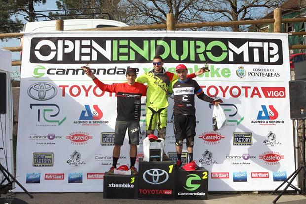 Resumen del II Toyota Vigo Enduro MTB, primera prueba del Open Enduro Cannondale-Xtrembike