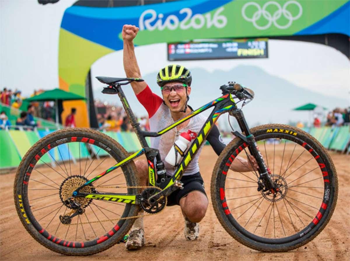 El año de Nino Schurter: medalla de oro en los JJ.OO. de Río