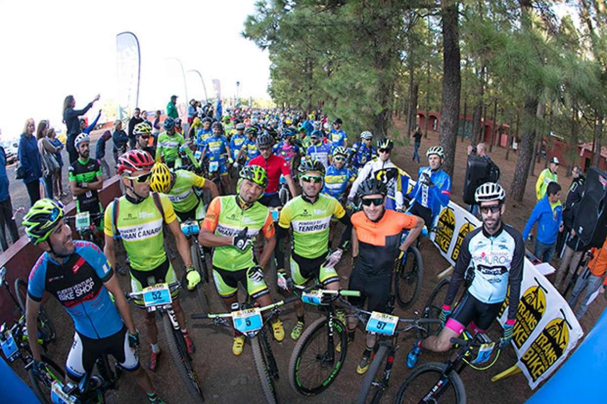 Gran éxito de participación en la primera edición de la Transgrancanaria Bike