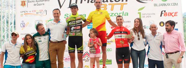 Victoria para José Márquez y María Díaz en la VII Maratón Sierra de Cazorla
