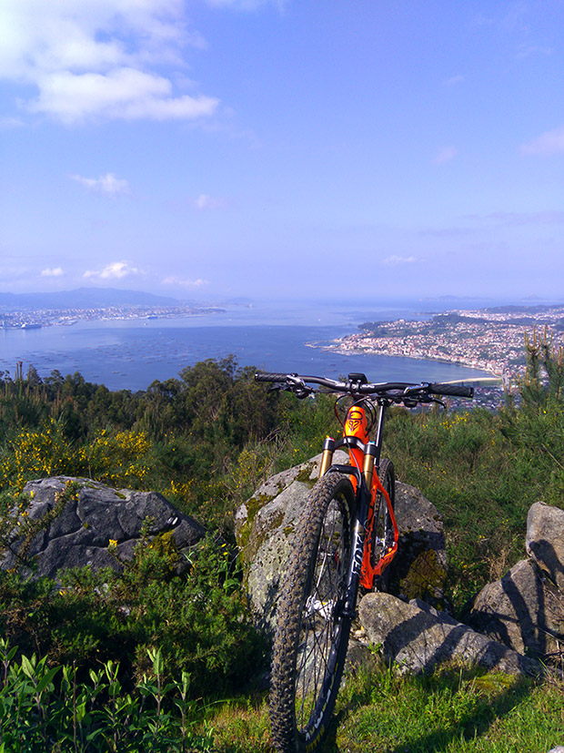 """La foto del día en TodoMountainBike: """"Ría de Vigo"""""""