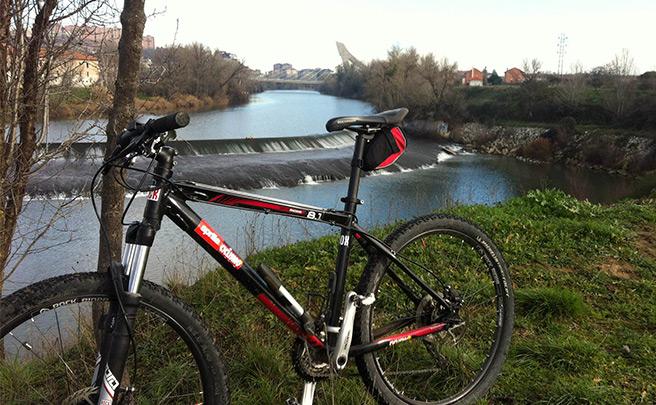 La foto del día en TodoMountainBike: 'En la ribera del río Pisuerga'