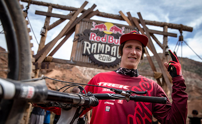 La ronda ganadora de Brandon Semenuk en el Red Bull Rampage 2016
