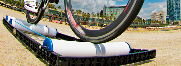 RooDol, un nuevo concepto de rodillo tricilíndrico ligero y transportable