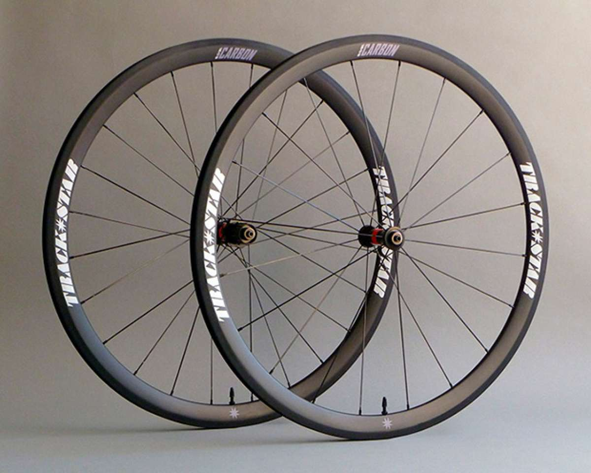 Nueva gama de ruedas de carbono para carretera Trackstar Carbon Wheels