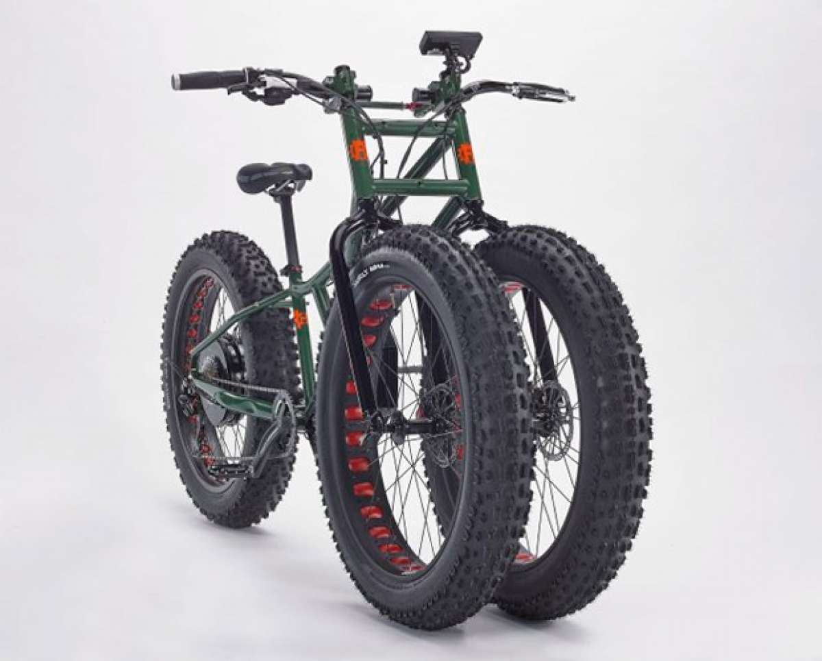"Rungu Electric Juggernaut, la ""Fat Bike"" más bestia del momento"