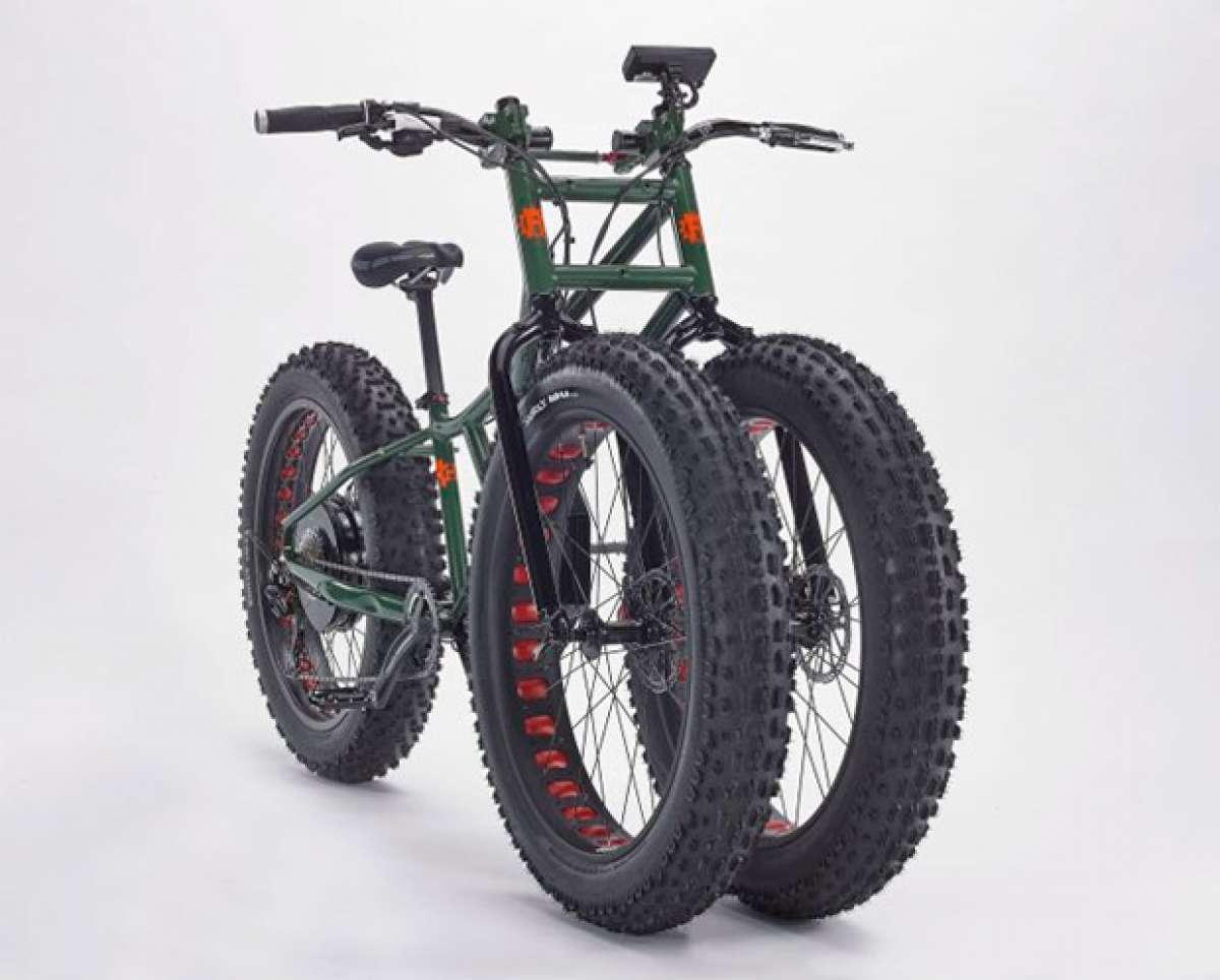 Rungu Electric Juggernaut, la 'Fat Bike' más bestia del momento