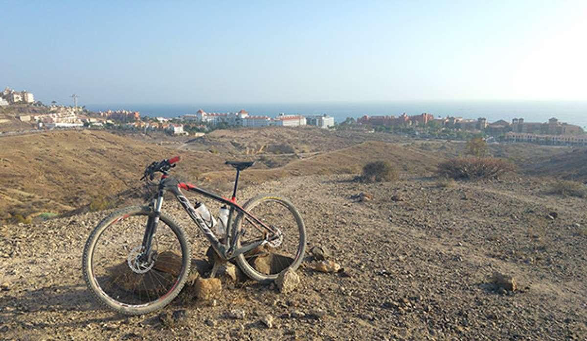 """La foto del día en TodoMountainBike: """"Una tardecita en Tenerife"""""""
