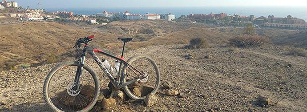 La foto del día en TodoMountainBike: 'Una tardecita en Tenerife'