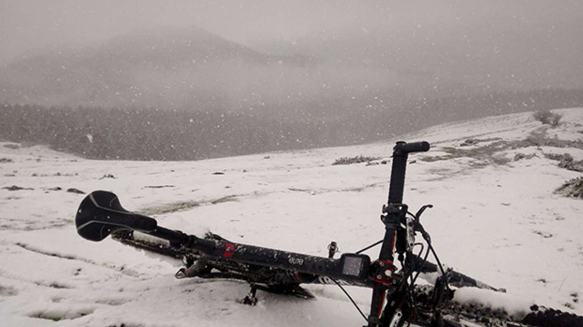La foto del día en TodoMountainBike: 'Winter is here...'