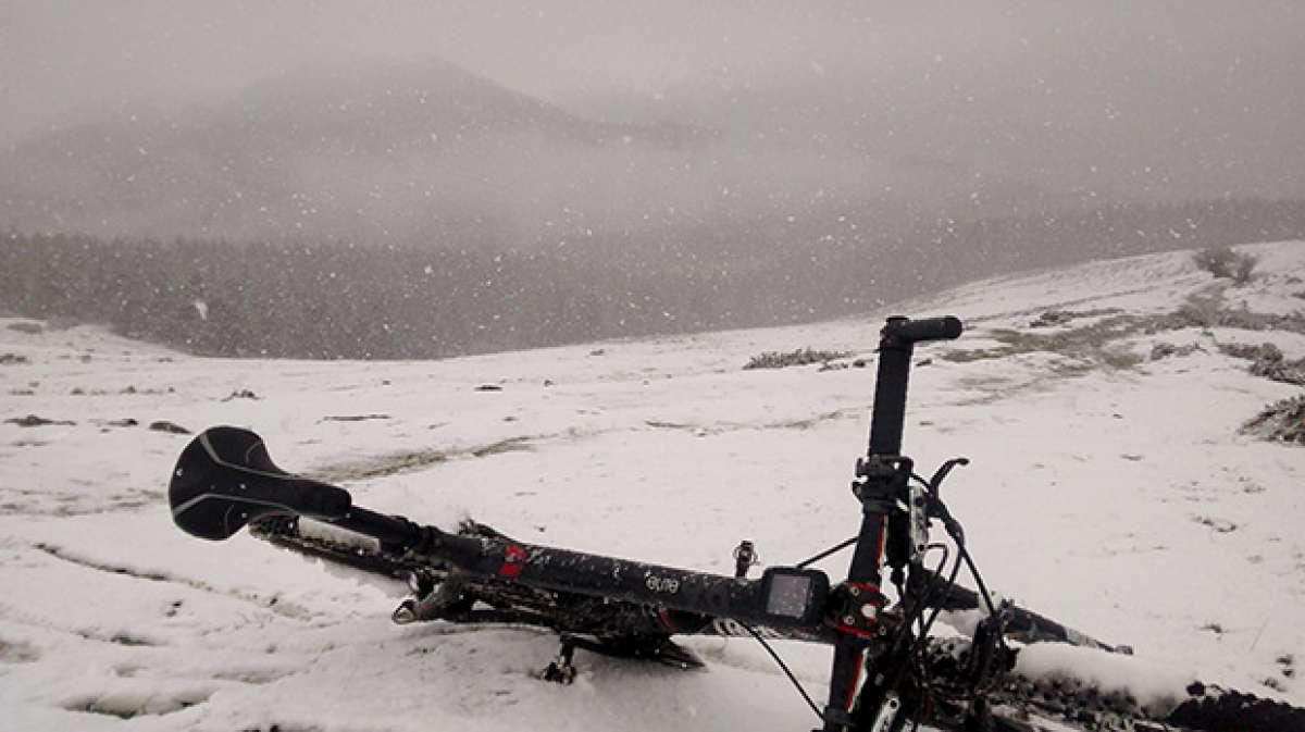 """La foto del día en TodoMountainBike: """"Winter is here..."""""""