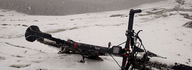 La foto del día en TodoMountainBike: 'Winter is here...'