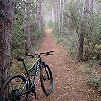 La foto del día en TodoMountainBike: 'Ruta desde Arroniz'