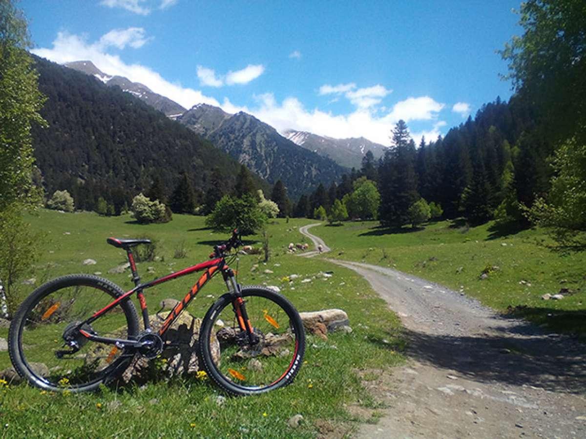 """La foto del día en TodoMountainBike: """"Ruta Pla de Beret (Pirineos Catalanes)"""""""