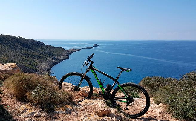La foto del día en TodoMountainBike: 'Ruta El Toro - Faro de Cala Figuera'