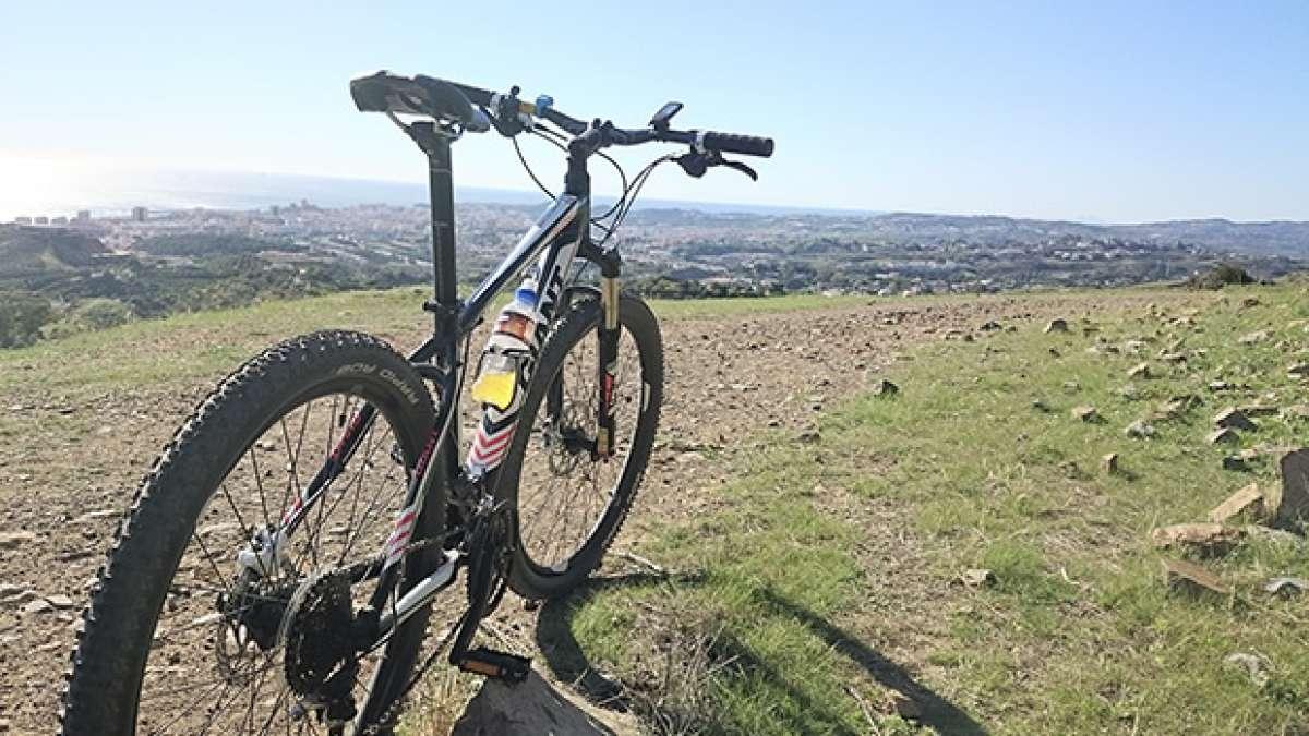 La foto del día en TodoMountainBike: 'Un día magnífico en Fuengirola'