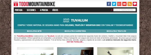 Nueva sección de 'Compra-Venta' en TodoMountainBike con la colaboración de Tuvalum