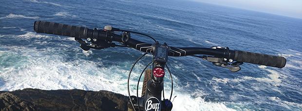 La foto del día en TodoMountainBike: 'Vistas al Atlántico desde o Seixo Branco'