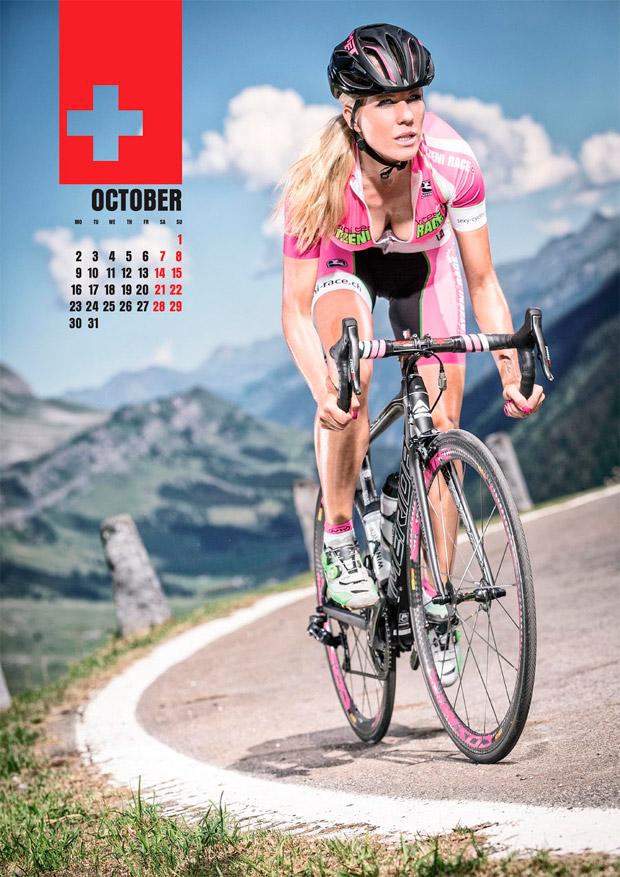 Nueva edición para el calendario más sensual del ciclismo: Sexy Cycling Calendar 2017
