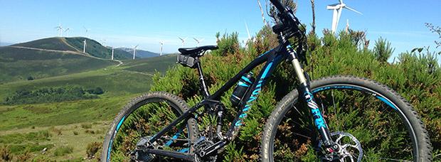 La foto del día en TodoMountainBike: 'Sierra de Elgea'