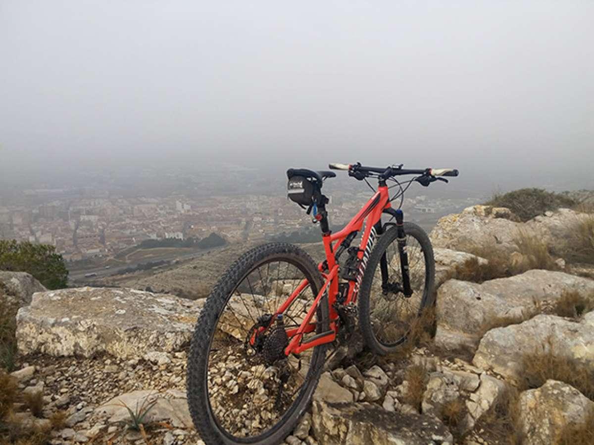 La foto del día en TodoMountainBike: 'Sierra de la Villa (Alicante)'