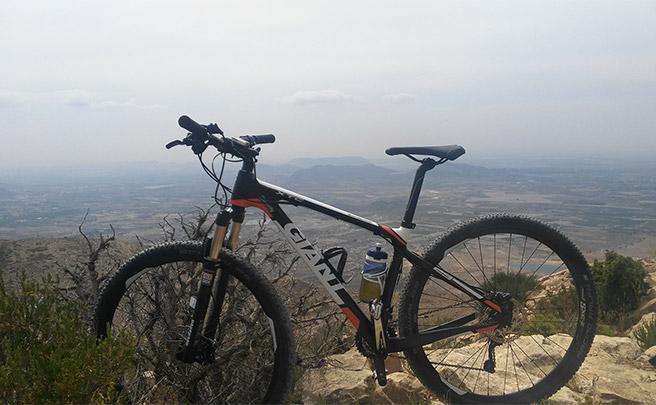 La foto del día en TodoMountainBike: 'Sierra del Cid'
