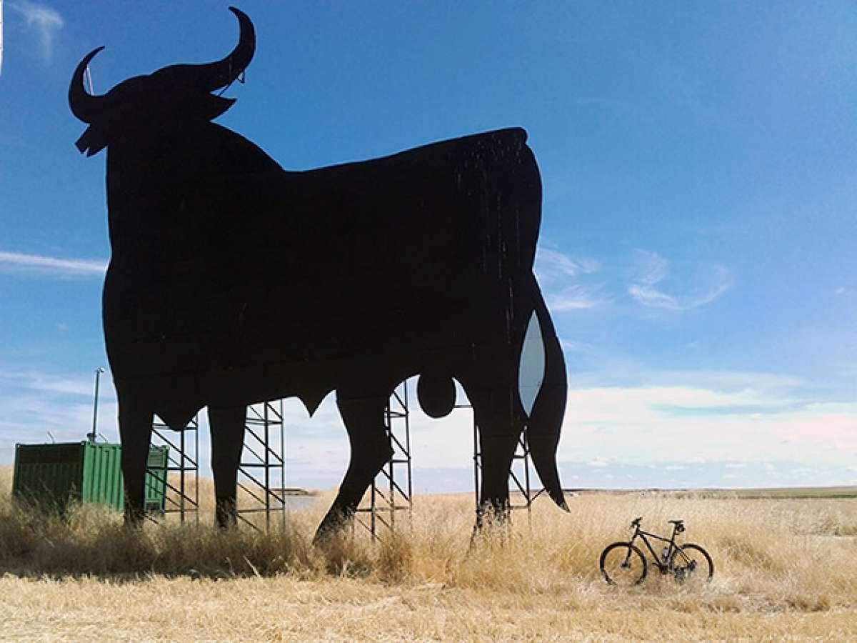 "La foto del día en TodoMountainBike: ""La silueta del Toro"""