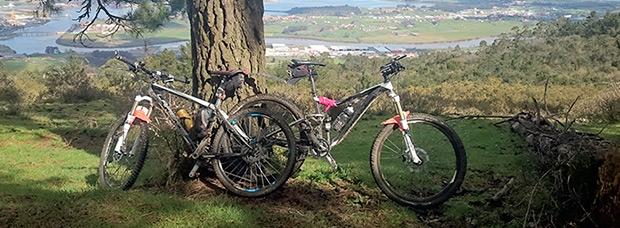 La foto del día en TodoMountainBike: 'Socabarga, con vistas a Santander'