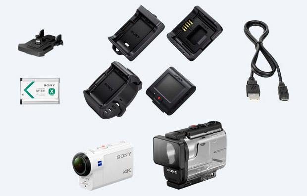 Sony FDR-X3000R 4K, un nuevo referente en el segmento de las cámaras de acción