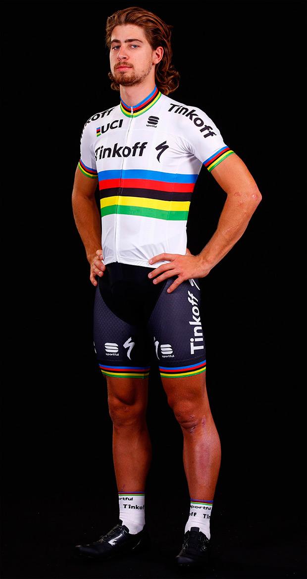 La equipación del Campeón del Mundo Peter Sagan, disponible en Sportful