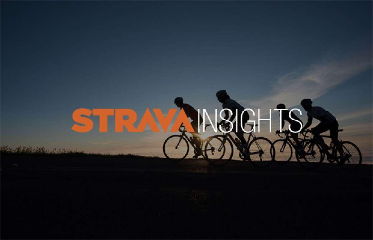 Los hábitos de ciclistas y corredores en España durante 2015, según Strava