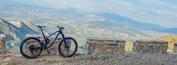 La foto del día en TodoMountainBike: 'Subida a Jabalcuz'
