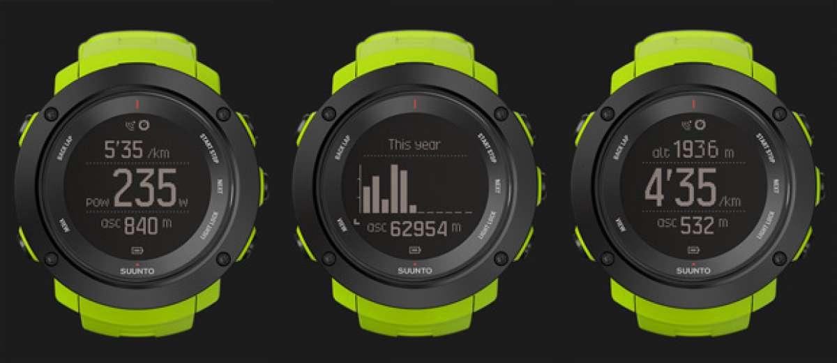 Suunto Ambit3 Vertical, un reloj GPS deportivo diseñado para coronar cimas