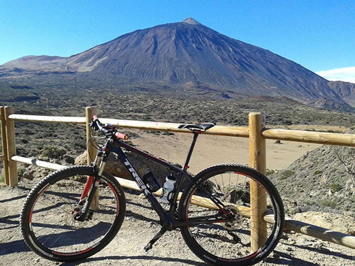 """La foto del día en TodoMountainBike: """"Vista del Teide desde La Fortaleza"""""""