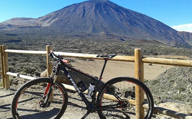 La foto del día en TodoMountainBike: 'Vista del Teide desde La Fortaleza'