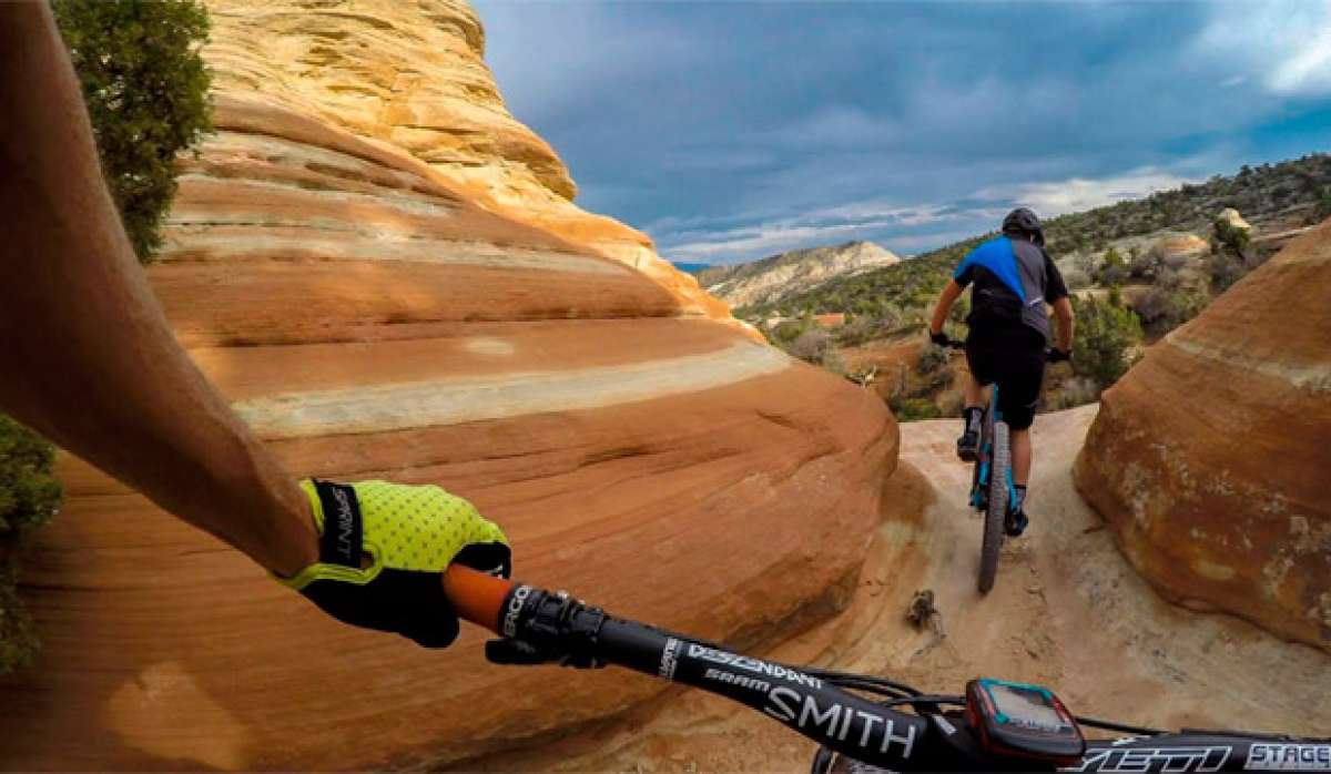 "Rodando por ""The Ribbon Trail"" (Grand Junction, Colorado) con Nate Hills"