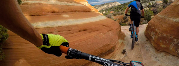 Rodando por 'The Ribbon Trail' (Grand Junction, Colorado) con Nate Hills