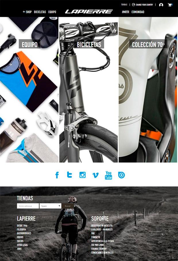 Lapierre+, la nueva apuesta de la marca francesa por la venta online