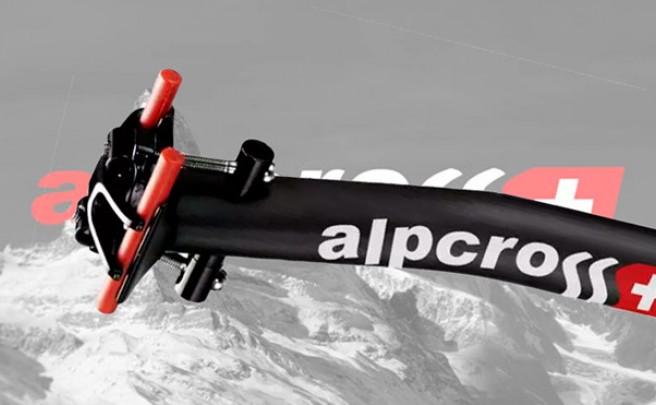 Alpcross Flex Die Brecca, la primera tija con retroceso (y flexible) de la firma