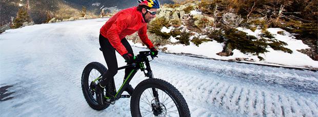Ascendiendo el Monte Washington en 'Fat Bike' con Tim Johnson