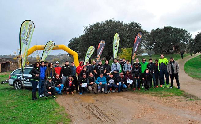 50 kilos de pilas recicladas en el Titán Villuercas Training Camp de Logrosán
