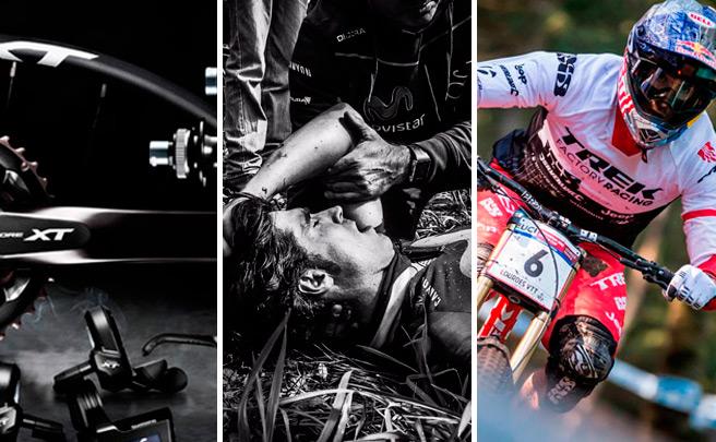 Shimano XT Di2, ruedas Mavic Crossmax Pro y Elite, arranque de la Copa del Mundo UCI DH y mucho más. Lo mejor de la semana en TodoMountainBike