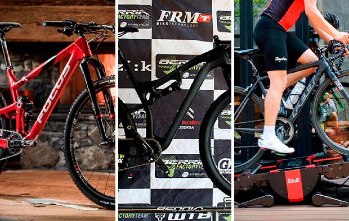 Berria Mako, Focus O1E, el sector de la bicicleta en España, motivación con Strava y mucho más. Lo mejor de la semana en TodoMountainBike