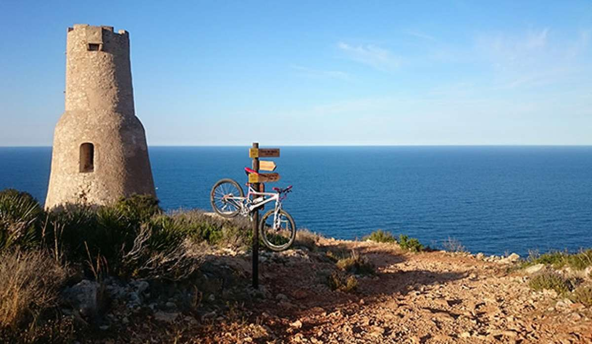 """La foto del día en TodoMountainBike: """"La Torre del Gerro"""""""