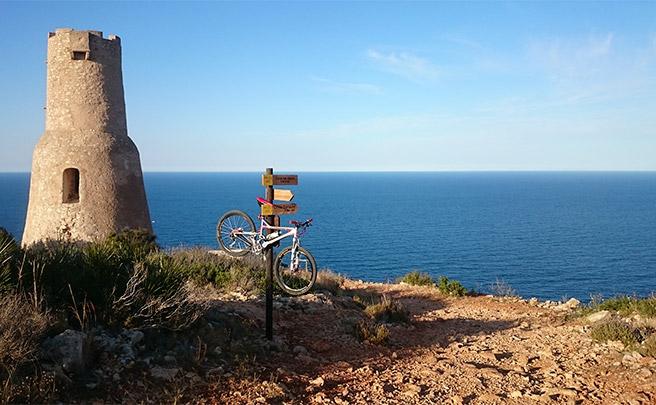 La foto del día en TodoMountainBike: 'La Torre del Gerro'