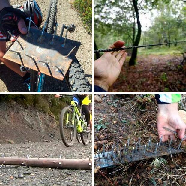 Aparecen nuevas trampas para ciclistas en la zona de Bellvei (Tarragona)