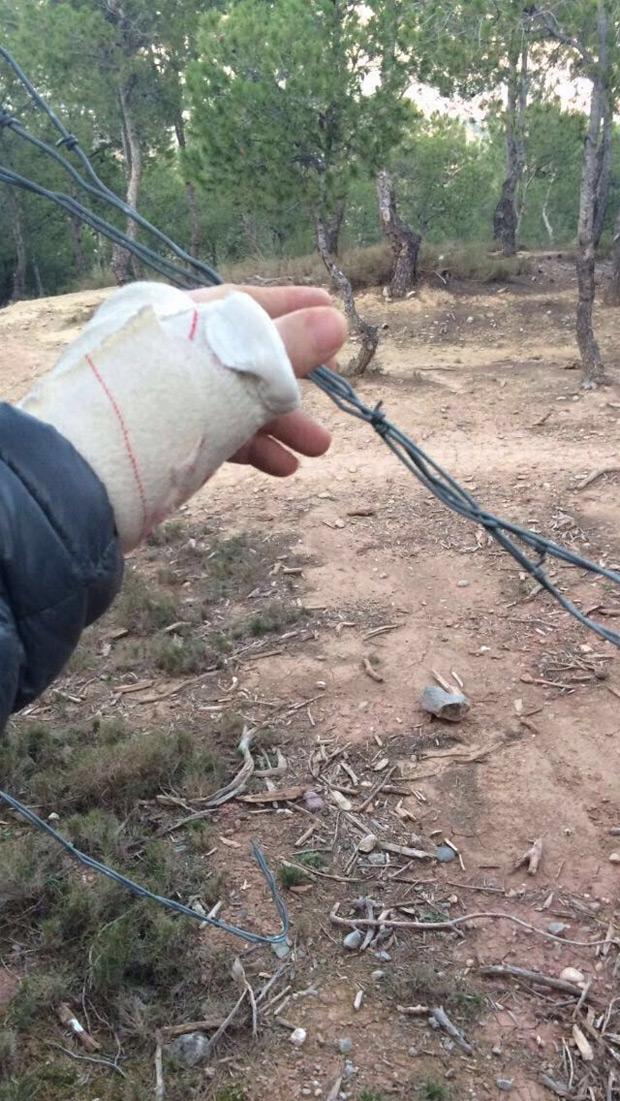Alerta en Cataluña: Trampas para ciclistas en las sendas de Roselló (Lleida)